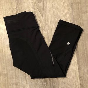 Black Lululemon leggings size 2